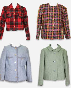 80-90's winter blazer