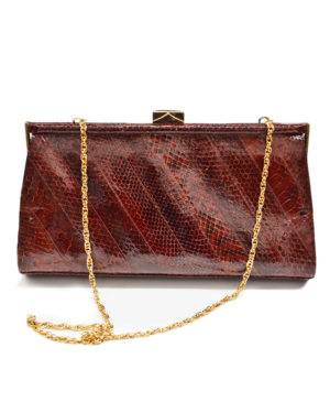 Vintage crocdile and reptile bags