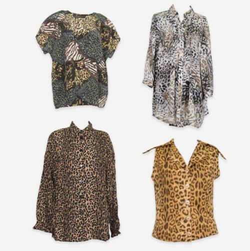 Camicie animalier donna
