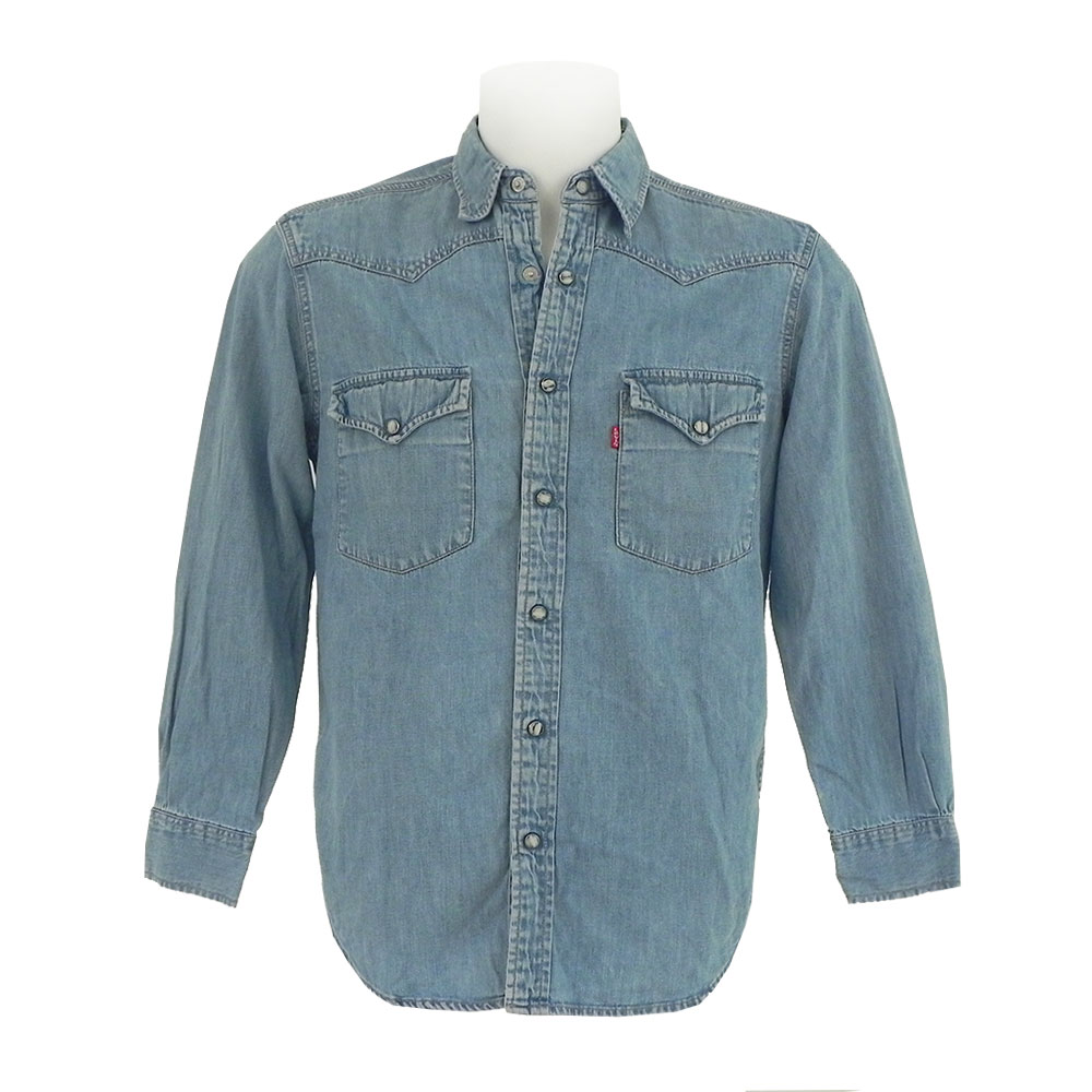Camicie jeans Levi's Lee Wrangler