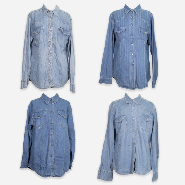 Camicie jeans donna