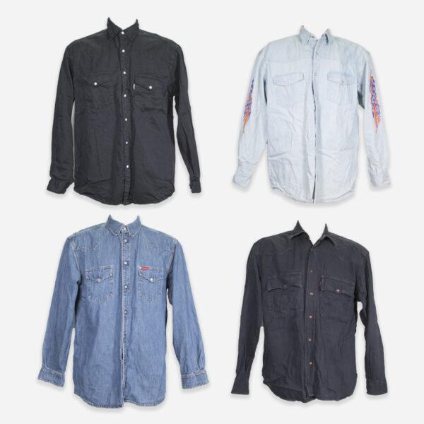 Vintage denim shirts