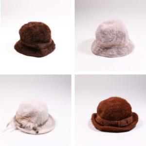 Cappelli angora donna
