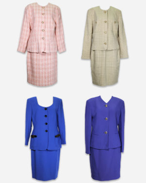 80-90's womens winter suits
