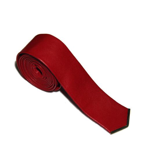 Cravatte di pelle