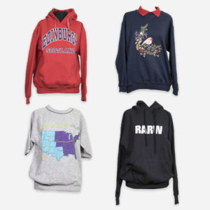 European sweatshirts