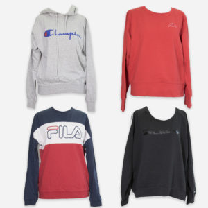Sport branded sweatshirts for women
