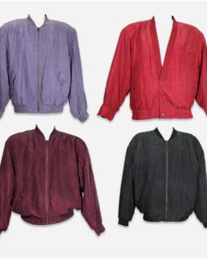 Silk jacket for man