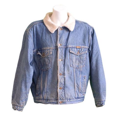 Giubbotti jeans vintage invernali