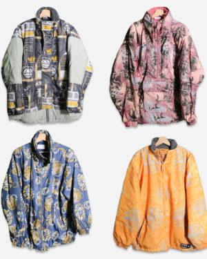 90s vintage man jackets