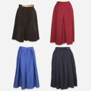 Gonne pantalone invernali