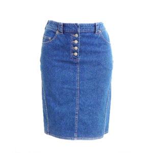 Gonne pencil di jeans '80/'90