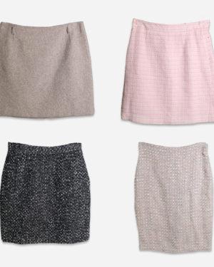 Winter miniskirts