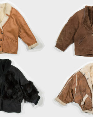 80-90's sheepskin jackets