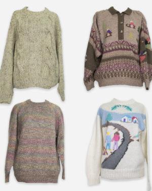80-90's vintage jumpers