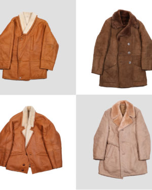 90s sheepskin for man