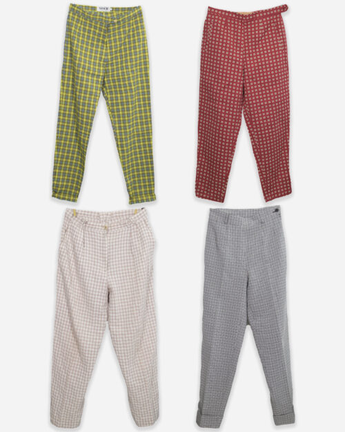 80s 90s summer trousers