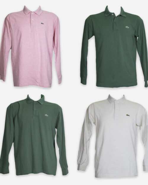 Branded polos for man