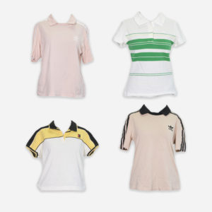 Woman sport branded polo shirts