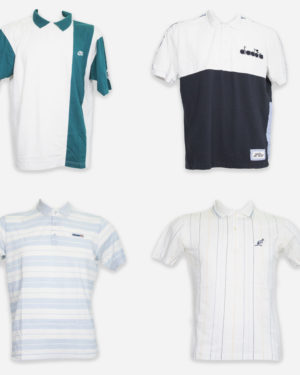 Sport branded polo shirts for men