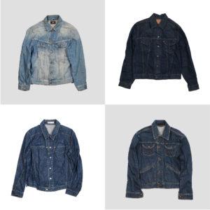 Giubbini di jeans firmati uomo