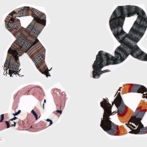 Sciarpe in lana da uomo