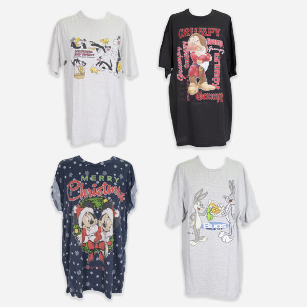 80/90s Disney t-shirts woman
