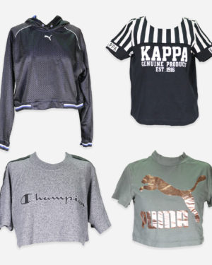 T-shirt corte sportive firmate