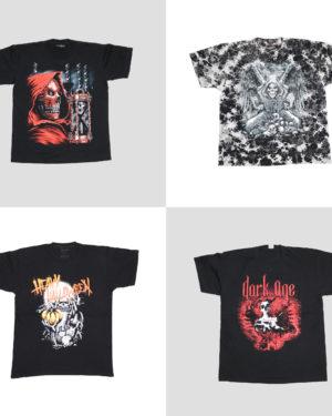 T-shirt Heavy metal da uomo