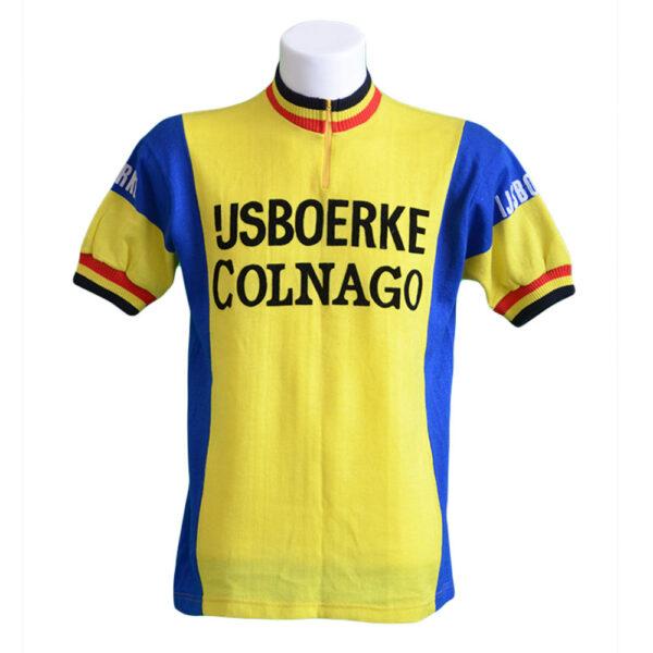 T-shirt ciclista di lana