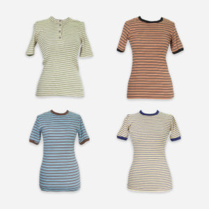 European woman t-shirts