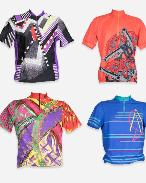 T-shirt in nylon da ciclismo