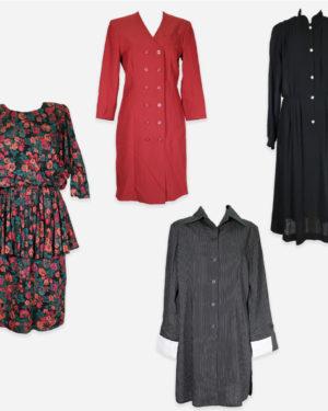 80-90s dresses