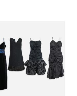 80-90s party dresses