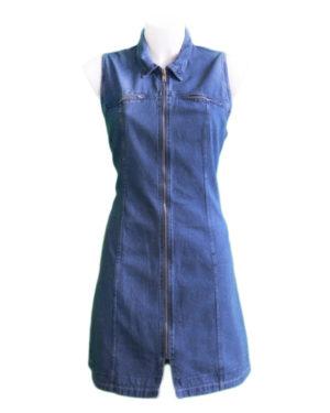 80-90's denim dresses