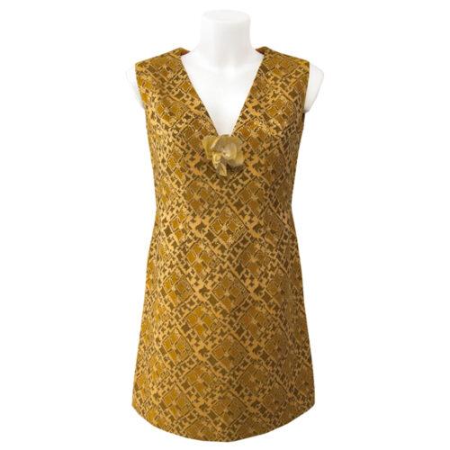 60's lurex dresses