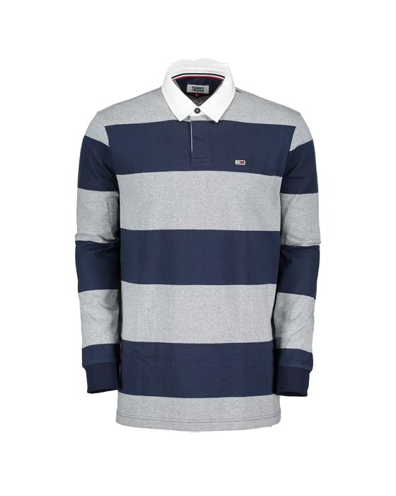 tommy-hilfiger-polo-manica-lunga-rugby-essential-blu-grigio-maxi-sport-neri-cotone