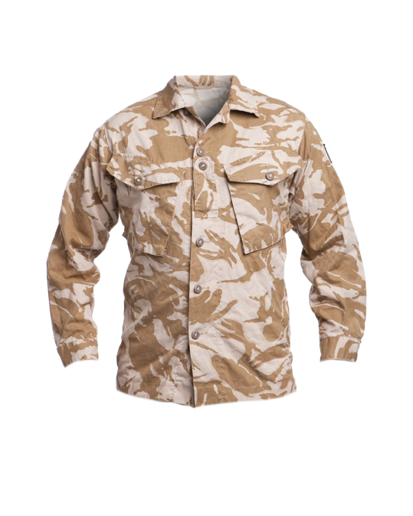 camicie militari inglese